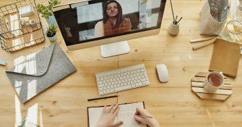 Mitarbeitergespräche im virtuellen Raum